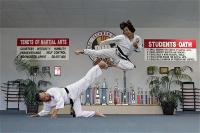 duc-dang-taekwondo-instructor-tam-bui-and-instructor-kim-anh-side-kick