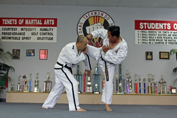 Duc dang taekwondo gm dang huy duc is coaching instructor hoi nguyen